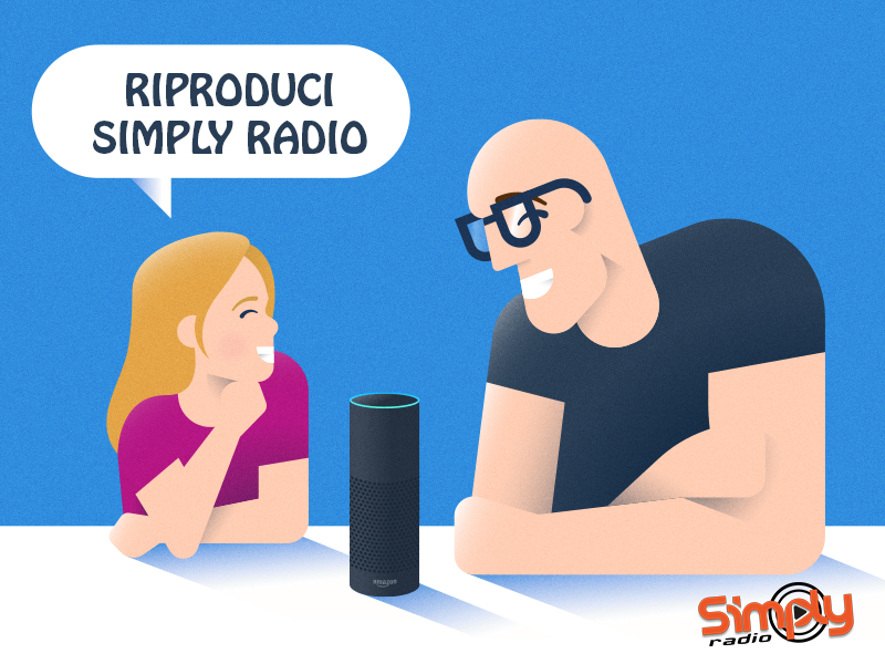 ASCOLTA SIMPLY RADIO SUGLI SMART SPEAKER!