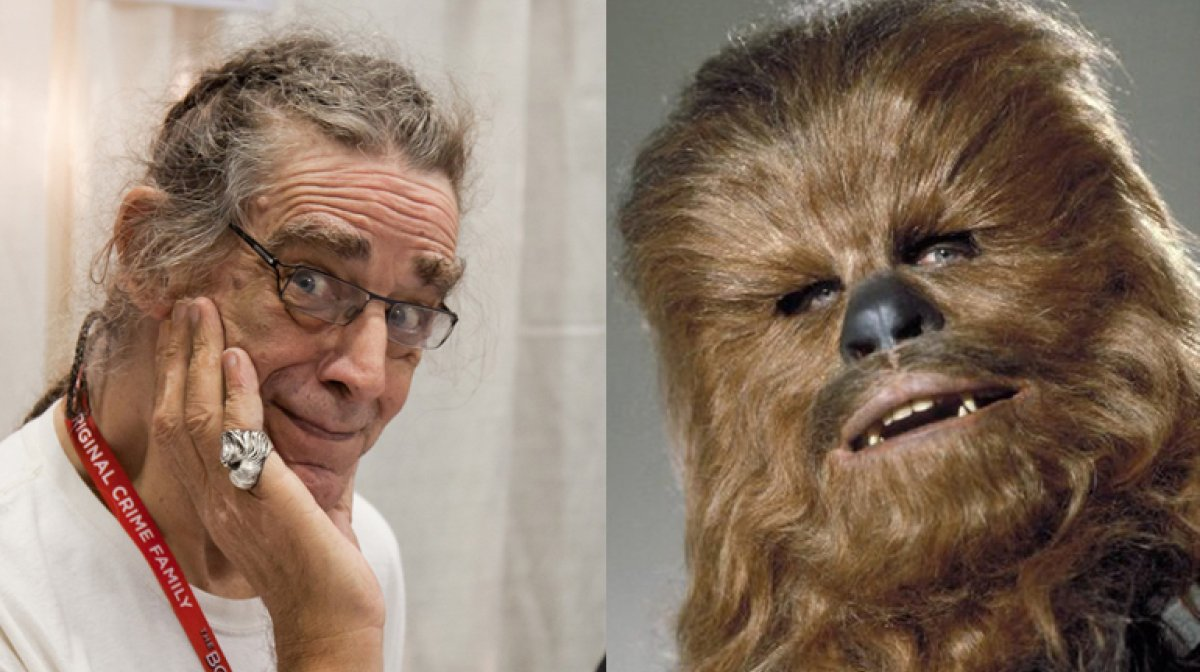 "È MORTO PETER MAYHEW,  È STATO CHEWBECCA IN ""Star Wars"""