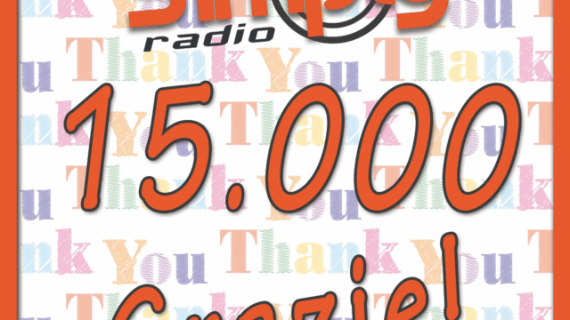 NUOVI DATI: 15 MILA PERSONE AL GIORNO ASCOLTANO SIMPLY RADIO!