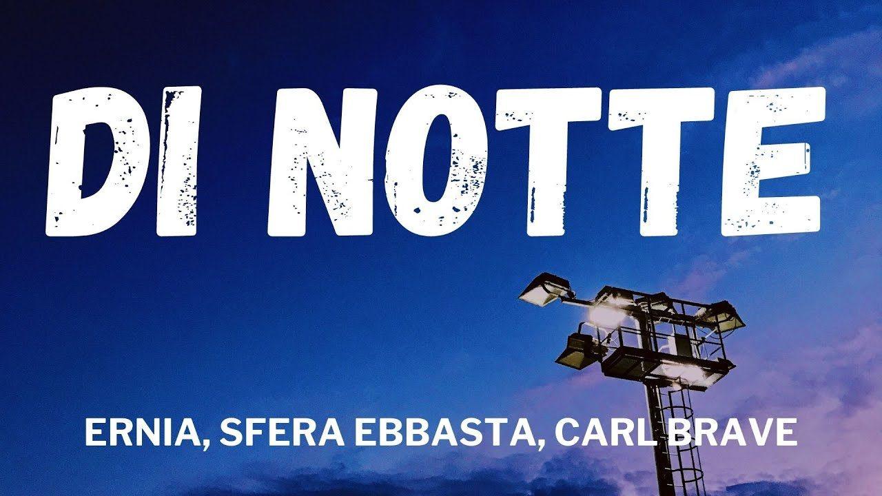 """IL SIGNIFICATO DELLA CANZONE """" DI NOTTE """""""